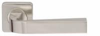 Дверная ручка на квадратной розетке KEA Армадилло никель матовый