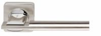 Межкомнатная ручка на розетке Armadillo TRINITY хром и никель матовый