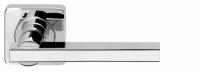 Межкомнатная ручка на розетке Armadillo ORBIS матовый никель и хром