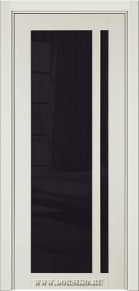 Глянцевая дверь межкомнатная из бука массива Альбани