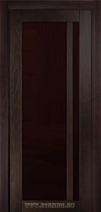 Натуральная деревянная дверь из массива ясеня - Альбани