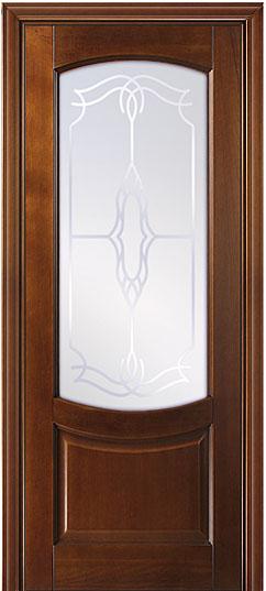 """ПО """"Белинский"""" межкомнатная дверь из бука массив - Светлый Дуб"""