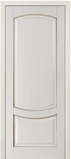 Белые крашенные двери из массива дерева в Санкт-Петербурге