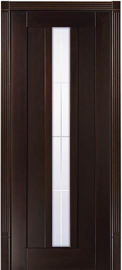 ПО Лермонтов, Грецкий орех - межкомнатная дверь из массива