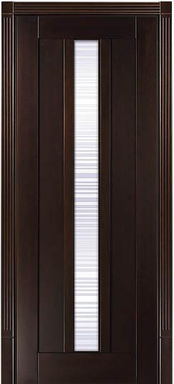 Дверь в стиле модерн из дерева массив бука Лермонтов