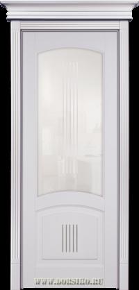 Окрашенная эмалью буковая дверь из массива Бетховен