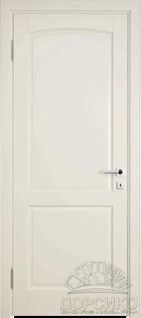 Дверь межкомнатная из березы крашенная по РАЛ белая или бежевая