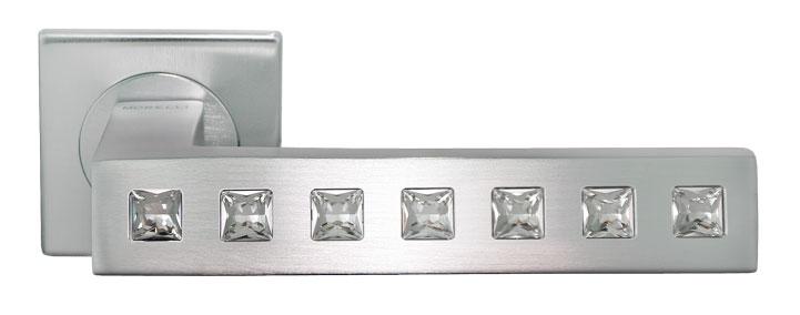 Ручка межкомнатная из латуни CULLINAN Luxury Morelli с кристаллами Сваривски