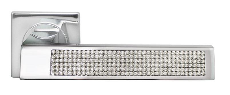 Ручка для межкомнатных дверей из латуни DOLCE VITA Luxury Morelli с кристаллами Сваровски