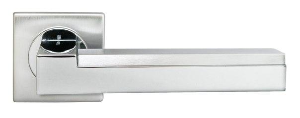 Ручка хромированная из латуни ISLAND серии Luxury Morelli для межкомнатных дверей