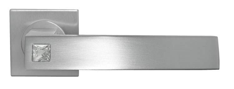 Ручка межкомнатная латунная MOUNTAIN OF LIGHT Luxury Morelli с кристаллом SWAROVSKI