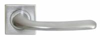 Дверная межкомнатная ручка SAND хром Luxury Morelli на тонкой розетке