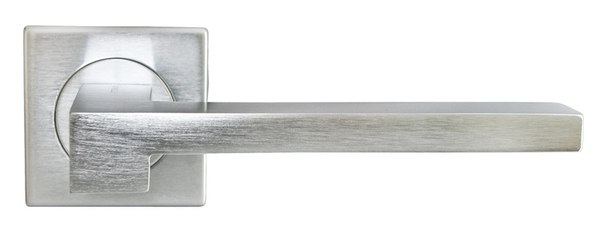 Латунная ручка хромированная STONE Luxury Morelli для межкомнатных дверей