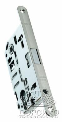 Morelli IM L PC полированный хром — замок магнитный под цилиндр для дверей межкомнатных