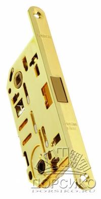 Morelli IM WC PG полированная латунь — замок магнитный под сан тех завертку для дверей