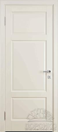 """Кама — окрашеная эмалью дверь из березы """"Слоновая кость"""""""