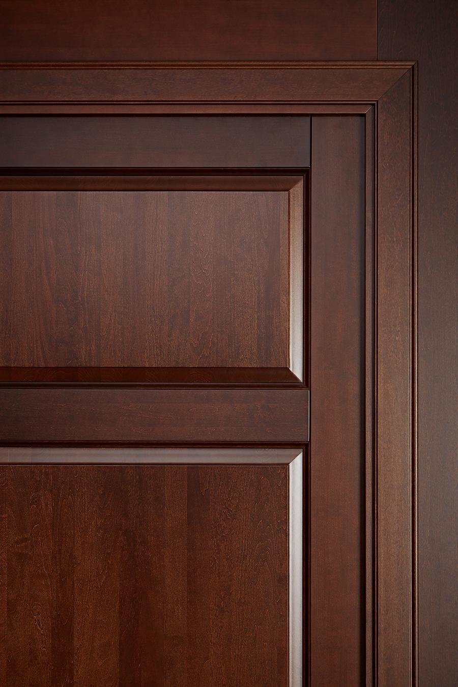 Дверь деревяння массив ольхи - фото