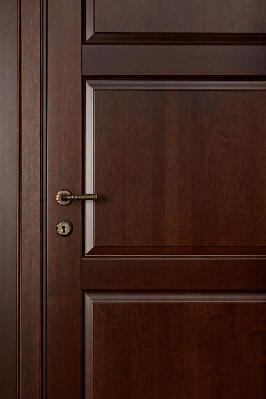 Фото - старый орех дверь