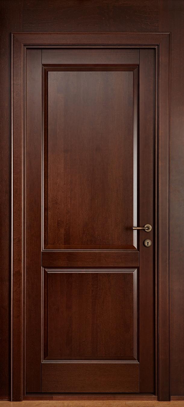 """Кантри - межкомнатная дверь из массива """"Красное дерево"""""""
