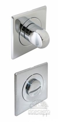 Сан тех завертка квадратная хром полированный для дверных ручек Luxury