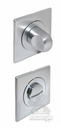 Сан тех завертка квадратная матовый хром для дверных ручек Luxury