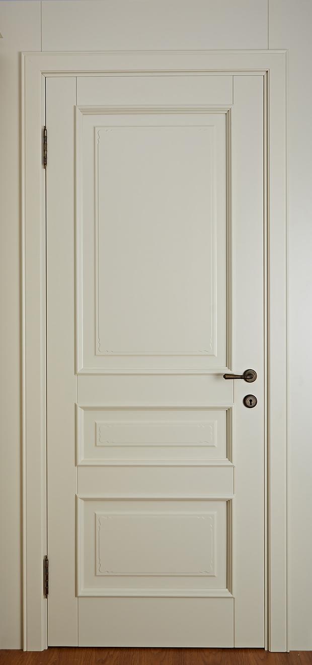 Дверь из массива ольхи Леон - Брянский Лес