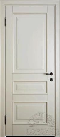 Леон — глухая крашенная дверь из березы массив
