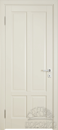Лира — белая эмалированная дверь из березы
