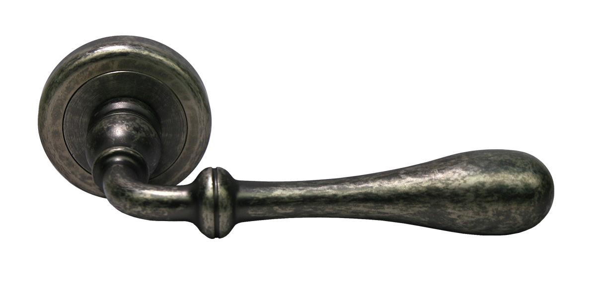 Латунная ручка для межкомнатных дверей MARY FEA античное железо Luxury Morelli