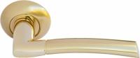 Дверная ручка MH-06 SG/GP Морелли золото/матовое золото