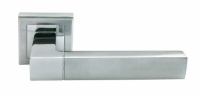 Дверная ручка MORELLI Зеркальная гостиная MH-28 SC/CP-S матовый и полированный хром