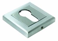 Специальная квадратная накладка на замочный цилиндр с ключом Морелли все расцветки