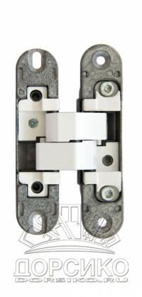 Петли скрытой установки для межкомнатных дверей Morelli HH-2 белые