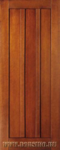Дверь межкомнатная со стеклом из бука массива Моцарт дуб светлый BLUM Industry