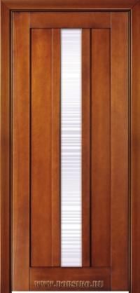 Современная межкомнатная дверь из бука массив Лермонтов от производителя Блюм Индастри