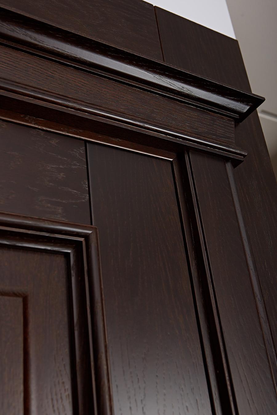 Дверь из массива дуба - Орлеан - увеличенное фото