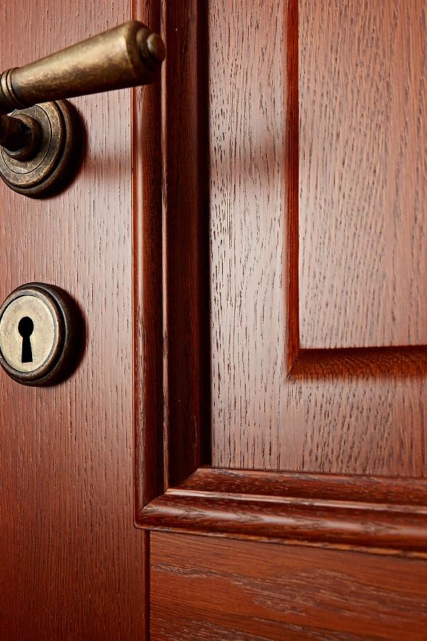 Фото деталей двери из массива дуба Брянский Лес