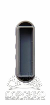 Вкладыш серый магнитный к ответной планке EASY-MATIC замков AGB Mediana Polaris