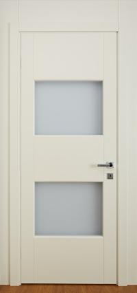 Домино 2 — крашенные двери из березы со стеклом