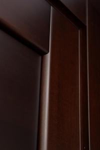 Домино 1 — тонированные двери из массива ольхи