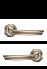 """Ручка дверная """"Лучиана"""", никель матовый"""