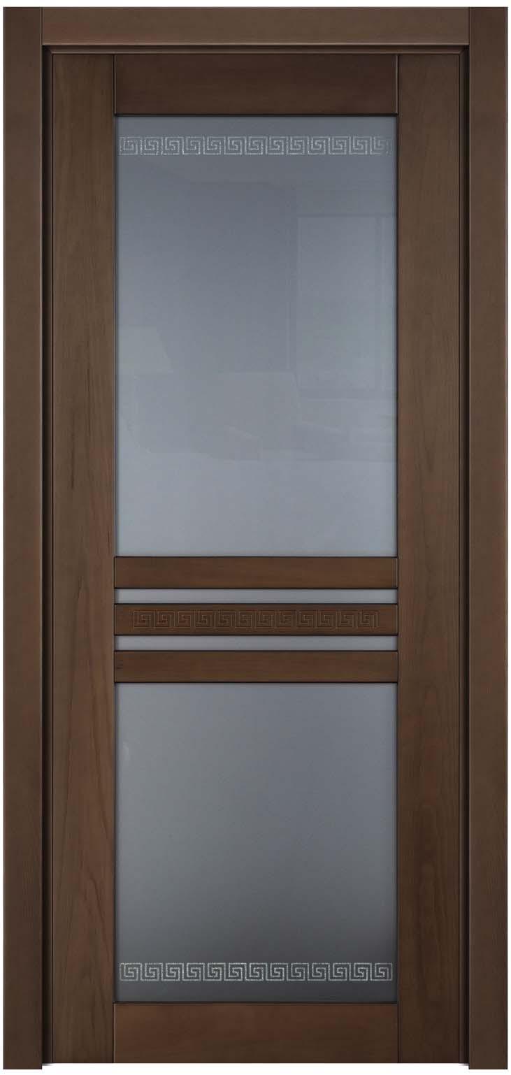 Дверь межкомнатная в стиле модерн из массива бука Данте с тонировкой Сахара