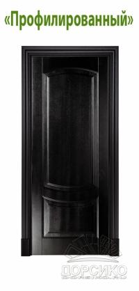 Профилированный наличник для межкомнатных дверей из массива ясеня BLUM Industry