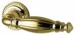 Bella раздельная ручка Armadillo для межкомнатных дверей Золото 24К