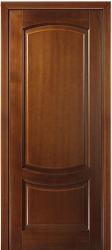 Филенчатая дверь из переклеенного массива кавказского бука - Белинский в цвете Светлый дуб