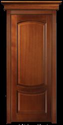 Белинский ПГ - филенчатая классическая буковая дверь с карнизом