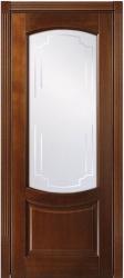 ПО Белинский - Светлый дуб, дверь из наборного массива бука