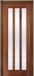 ПО Лермонтов - изысканая дверь деревянная из массива бука в СПб