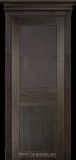 Комнатная дверь из ясеня в стиле модерн - Данте Графит
