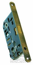 Morelli IP L PG бронза — магнитный замок под цилиндр для межкомнатных дверей
